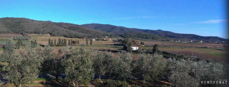 Красоты Тосканы в окрестностях Agriturismo Val di Nappo