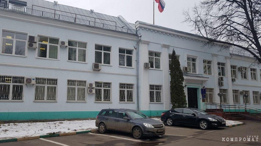 Здание управы Можайского района