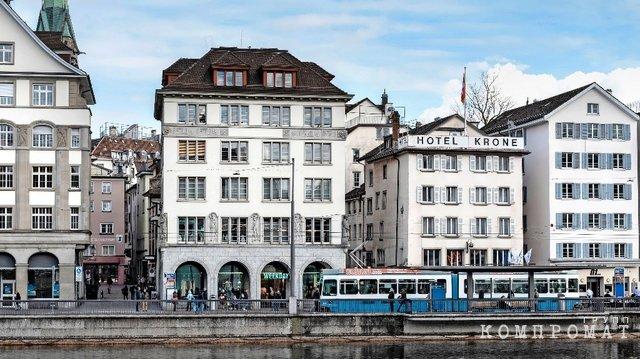 Дом в центре Цюриха, который Удодов купил за 37 млн франков (почти $33 млн)