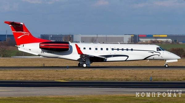 Самолет Данила Хачатурова Embraer Legacy 600