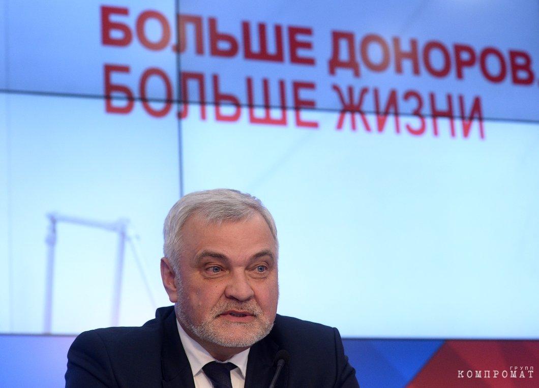 Владимир Уйба — руководитель ФМБА