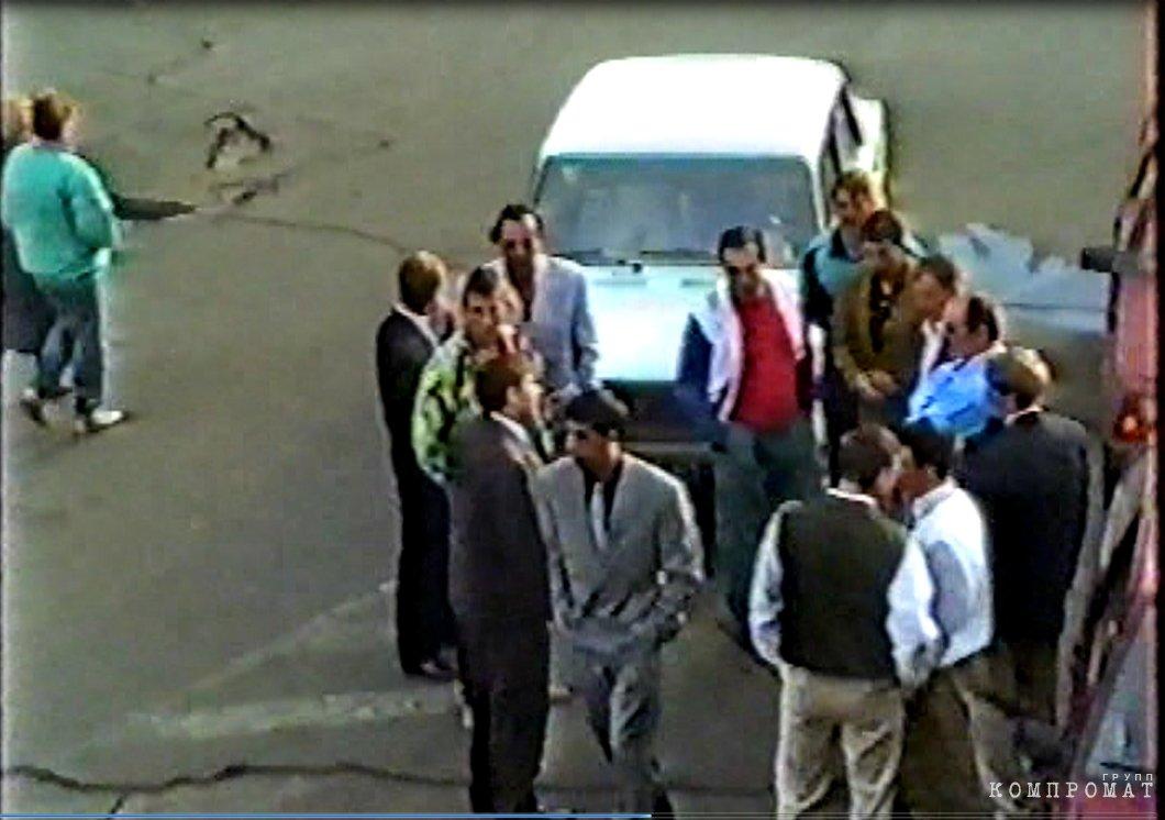 Май 1993 года. Встреча Быкова и Татаренкова в Красноярске. Тут же Исмайлов, Коледов, Герасимов, Чучалов, Данилов.