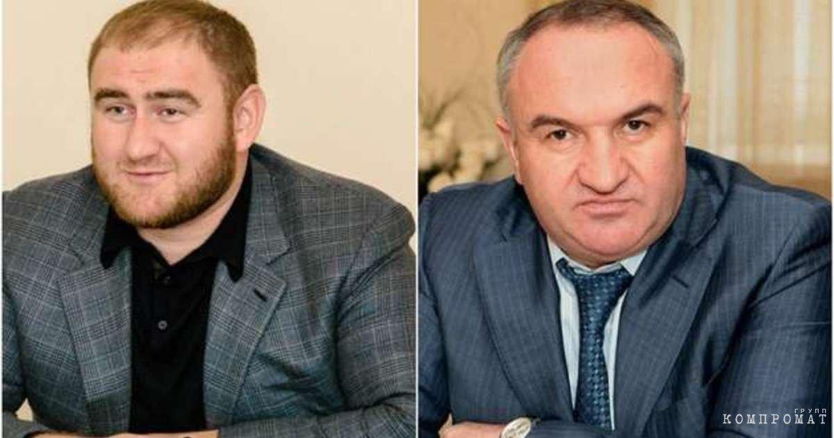 Рауф Арашуков и Рауль Арашуков
