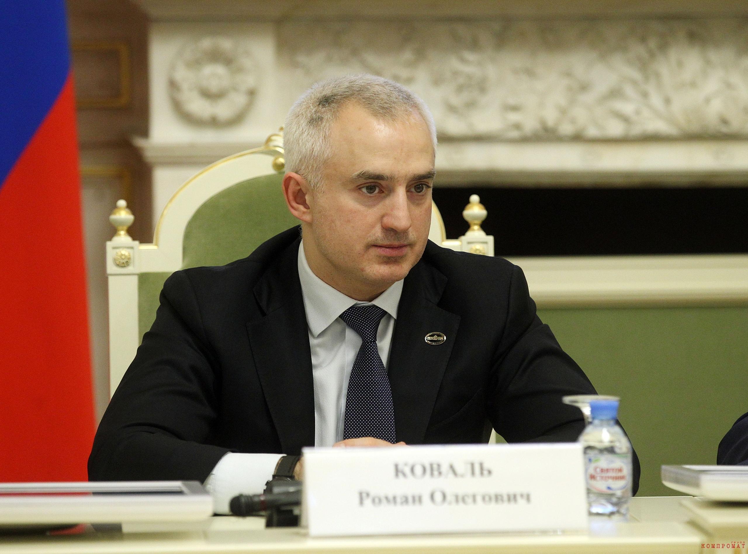 Петербургский депутат Коваль
