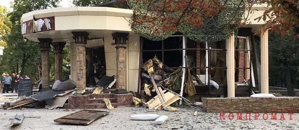 Место взрыва — кафе