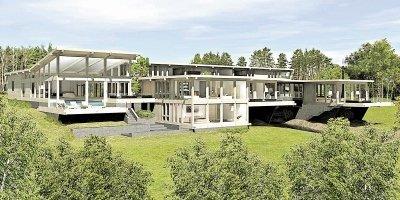 Проект дома матери чиновника в «Пирогово»
