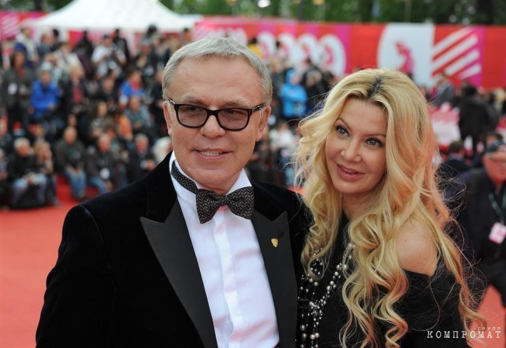 Фетисов с супругой Ладленой на открытии московского кинофестиваля, 2014 год