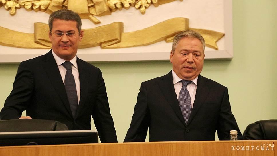 """Мэр Мустафин """"подсидит"""" губернатора Хабирова?"""