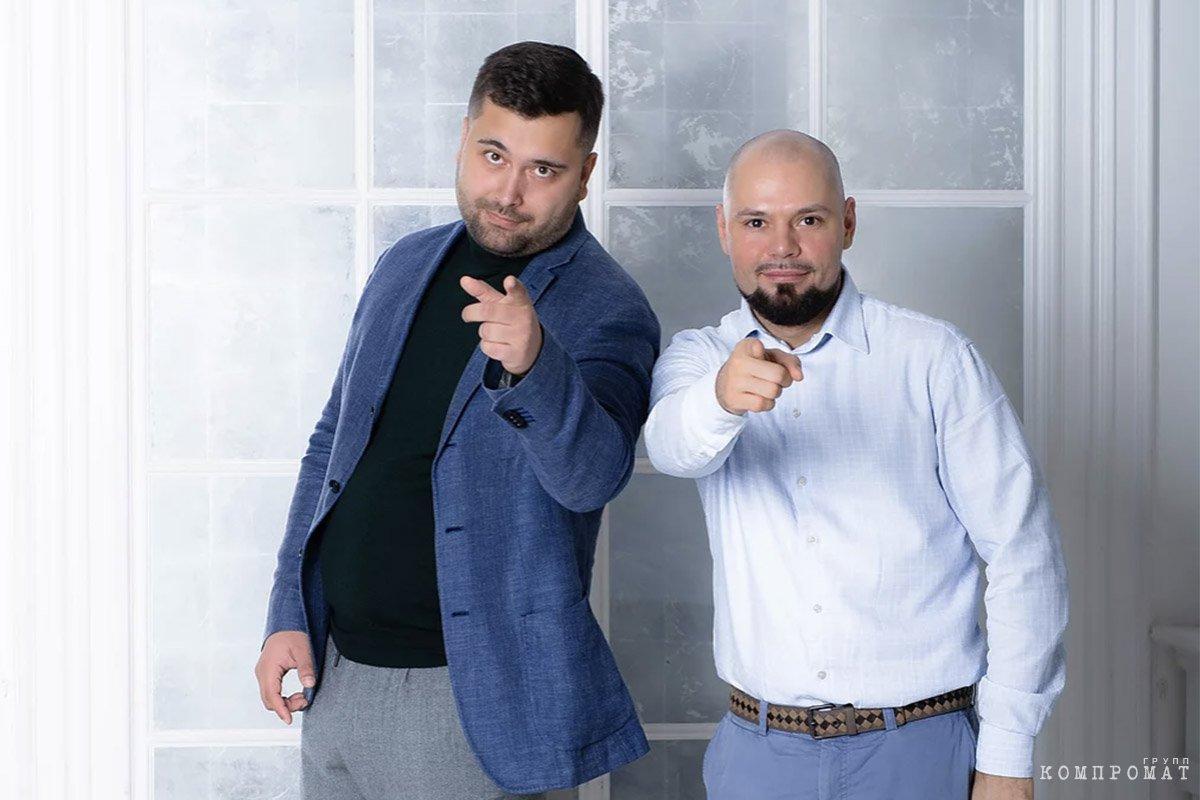 Александр Дмитренко и Артем Лукоянов