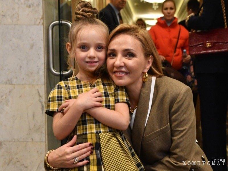 Татьяна Навка с дочерью Надеждой