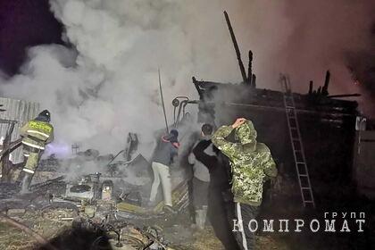 Раскрыта возможная причина пожара в российском доме престарелых