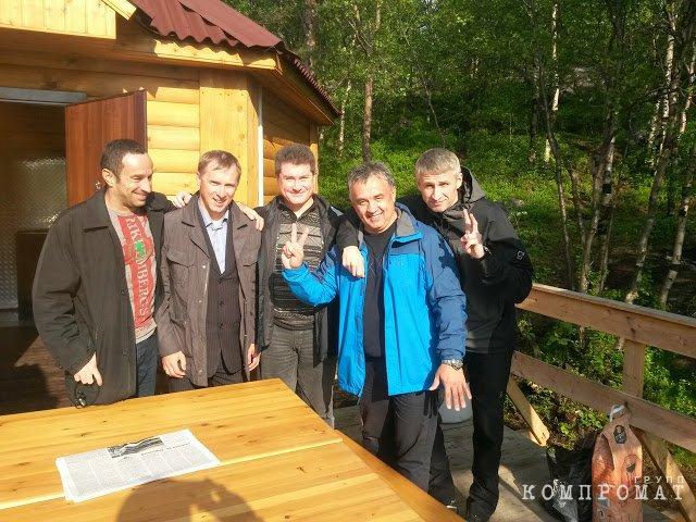 Николай Качан, Станислав Радов и Вадим Зинатуллин