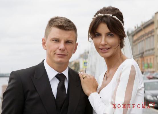 Свадебная фотография Андрея и Алисы Аршавиных
