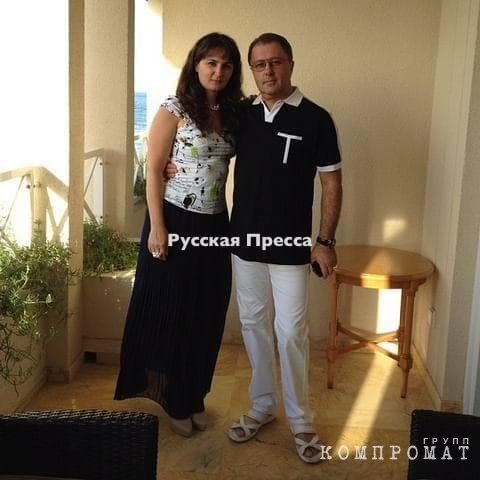 Светлана Серпик-Мительман с отцом – Семёном Мительманом, купившим ей дом в Германии