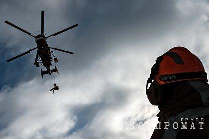 Вертолет МЧС упал в Калининградской области во время учебного полета