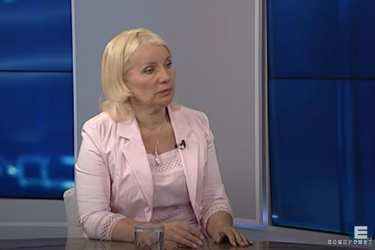 Бывшая глава Счётной палаты Красноярского края Татьяна Давыденко