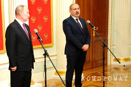 Кремль раскрыл тему переговоров Путина и Пашиняна 7 апреля