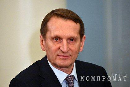 Глава СВР оценил ситуацию вокруг отношений России и Чехии