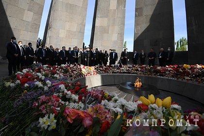 В Кремле отреагировали на признание Байденом геноцида армян