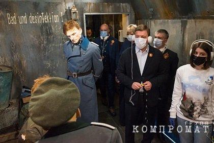 Турчак посетил Поезд Победы на Белорусском вокзале