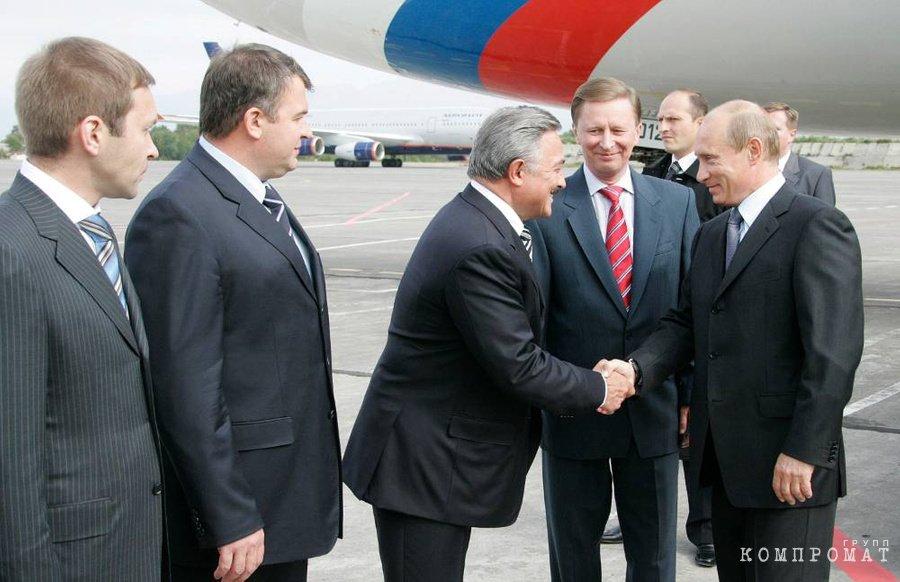 Президент России Владимир Путин на Камчатке, 2007 год