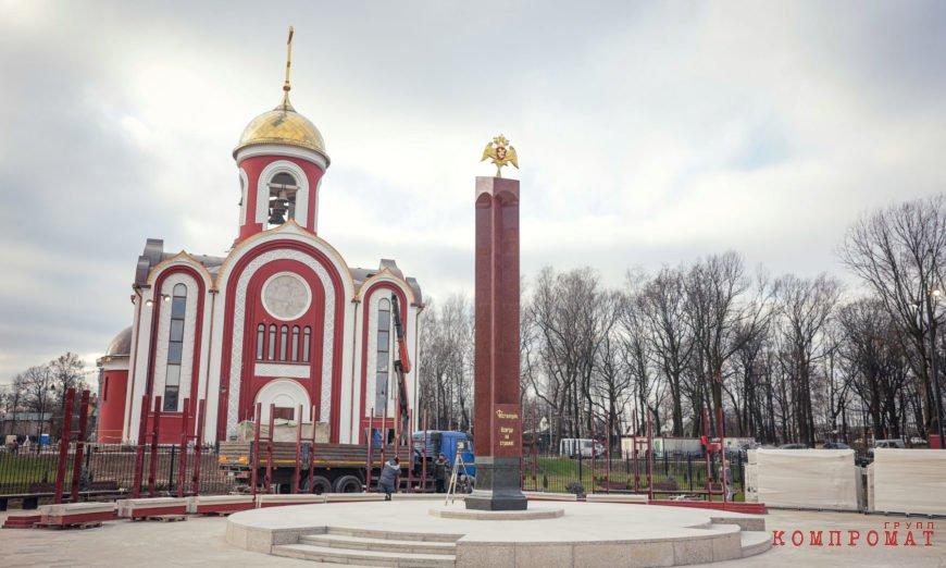 Храм для Росгвардии Алексей Добашин мог построить бесплатно?