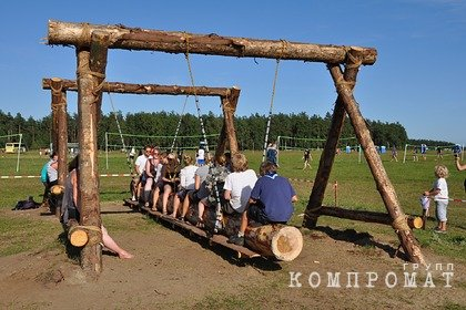 В российском лагере десятки детей заразились коронавирусом
