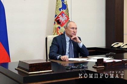 Путин назвал вбросом заявление о передаче Ирану российского спутника