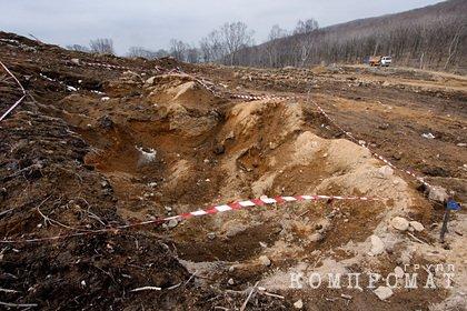 В российском регионе нашли новые останки на месте захоронения жертв фашистов