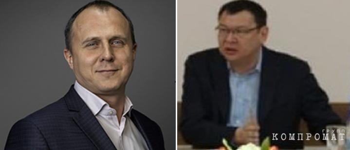 Алексей Василюк (слева) и Болат Закарьянов