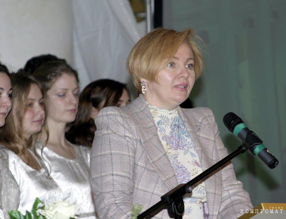 Людмила Очеретная (Путина)