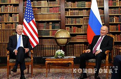 Кремль раскрыл темы телефонного разговора Путина и Байдена