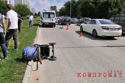 В Москве женщина сбила троих детей на пешеходном переходе