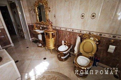 Глава ГИБДД Ставрополья объяснил интерьер своего золотого дворца