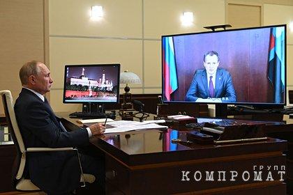 Путин раскритиковал недостаток врачей в Белгородской области