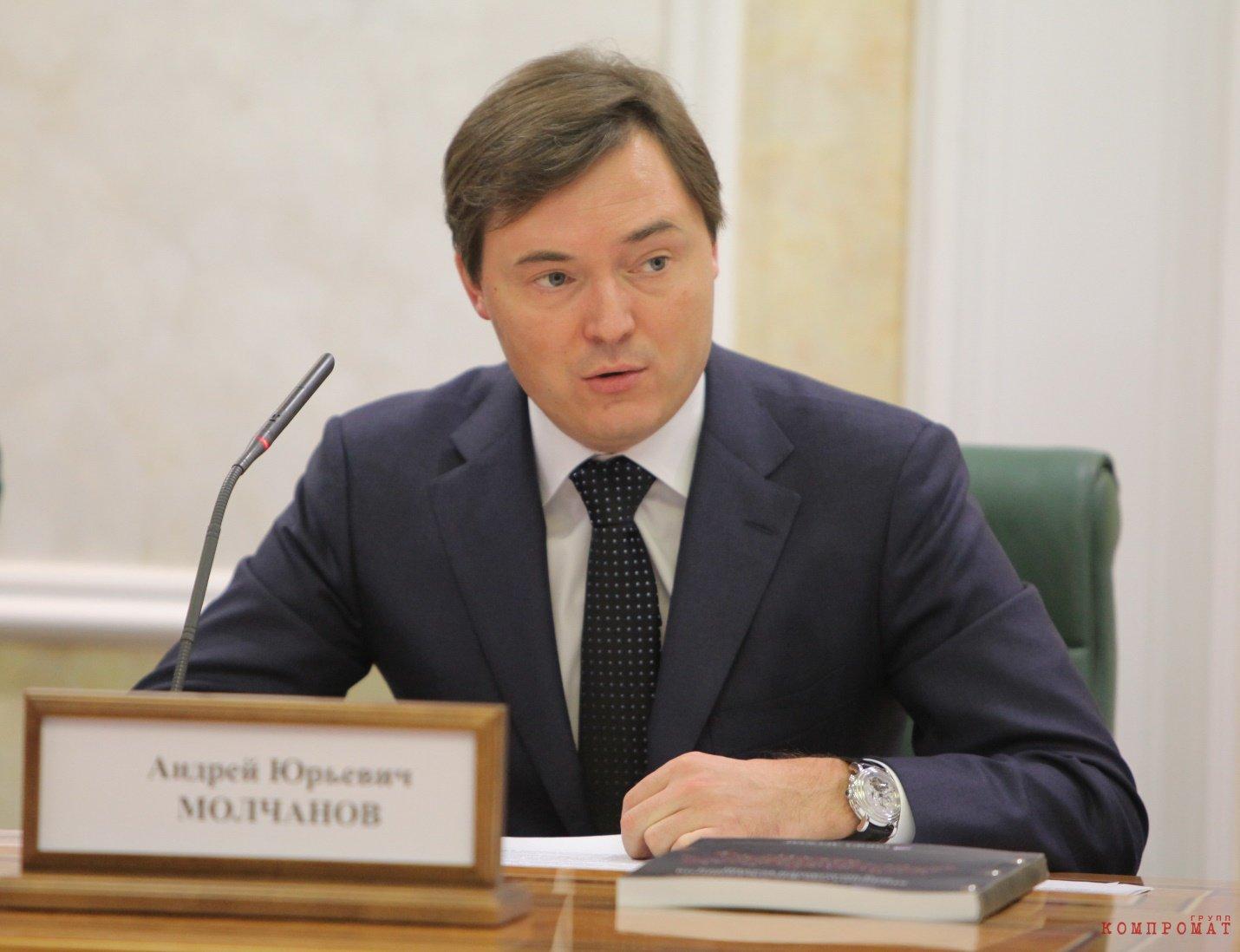 Андрей Молчанов попросит деньги на новый проект у «ДОМ.РФ»?