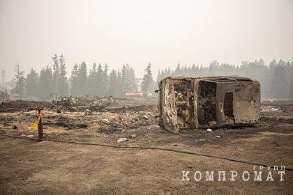В МЧС спрогнозировали рост числа пожаров в Якутии