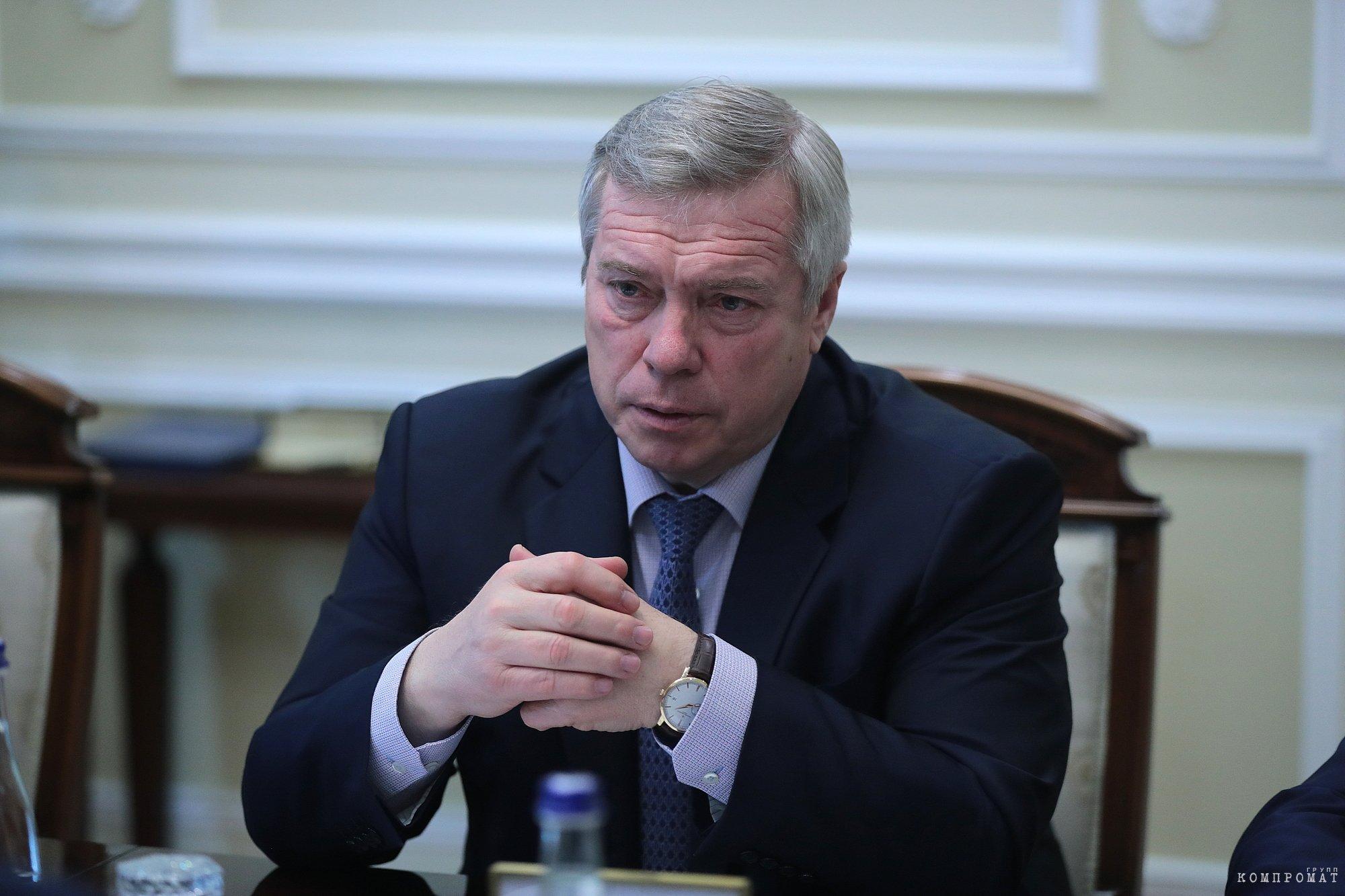 Губернатор недоразвития Ростовской области