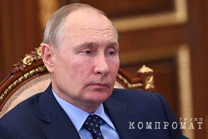 В Кремле заявили об отсутствии у Путина аккаунтов в социальных сетях