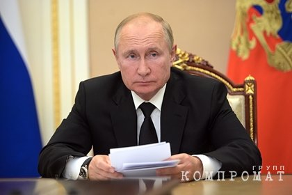 Путин прокомментировал уход на самоизоляцию