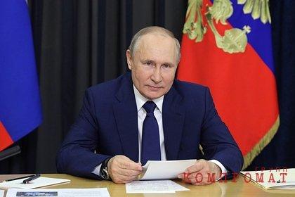 Путин назвал пример в борьбе с пандемией