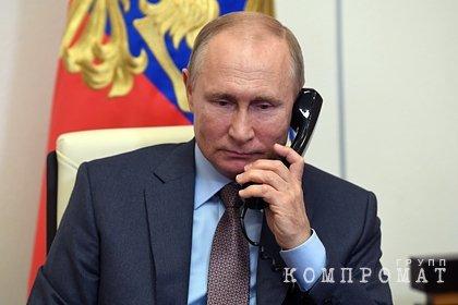 Путин провел телефонные переговоры с президентом Ирана