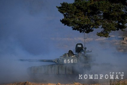 Российскую базу в Таджикистане усилят модернизированными танками Т-72Б3М