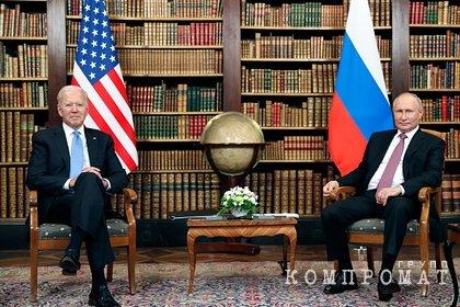 В Кремле оценили возможность встречи Путина и Байдена в Риме