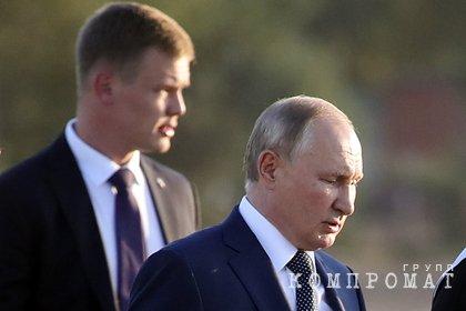 Путин раскрыл подробности болезни своего адъютанта