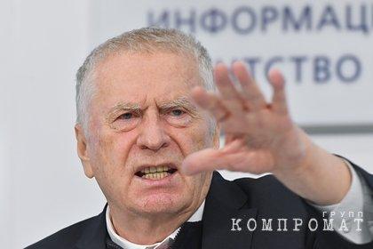Жириновский обратился к Саакашвили фразой Вот и конец твой, Миша