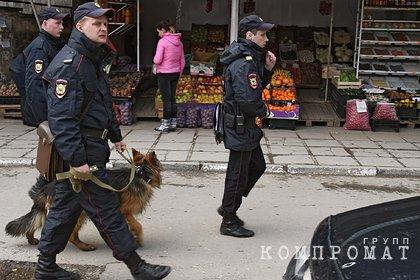 Полиция проверит кинувших ради забавы фрукт в пожилого россиянина мигрантов